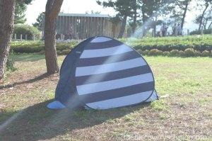 山口ゆめ花博でテントがあると便利かも
