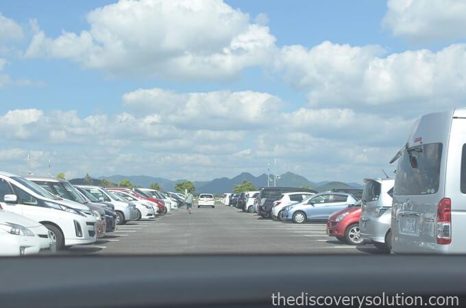 山口ゆめ花博の駐車場の場所