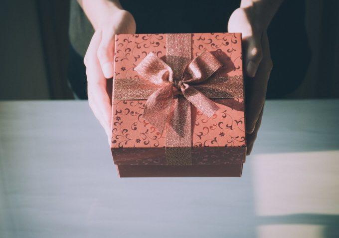 家にプレゼントを配達してもらおう♡