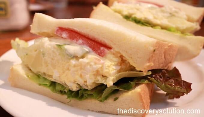 待ちに待ったocmのサンドイッチが到着♡