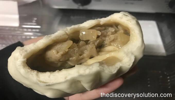 揚子江の豚まん、餃子を食べてみた。