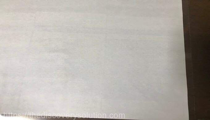 インスタ風透明トレカの写真の紙をラミネートに貼ります