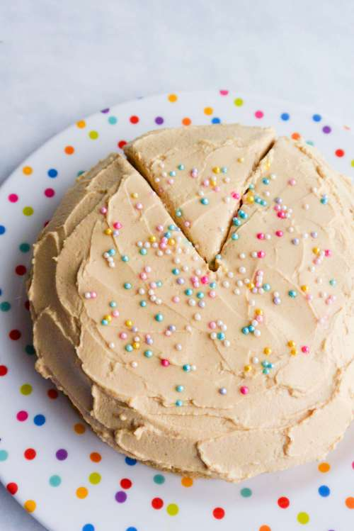 Magnificent Mini Dog Birthday Cake The Dish Next Door Personalised Birthday Cards Akebfashionlily Jamesorg