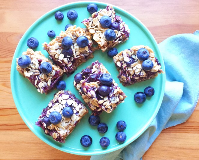 Peanut Butter and Blueberry Oat Squares.JPG