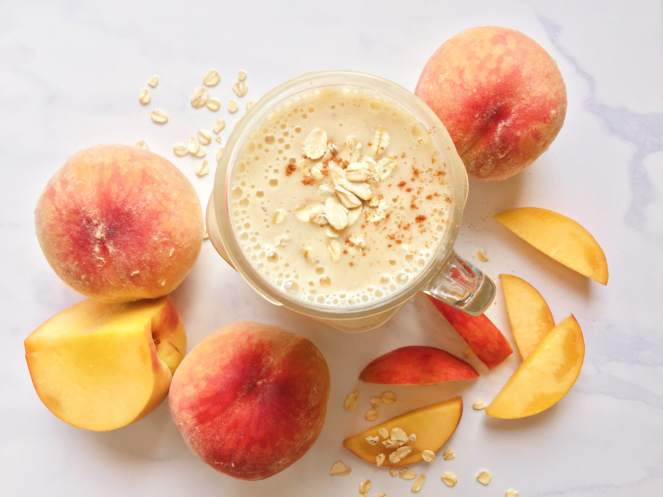 peaches and kefir smoothie recipe