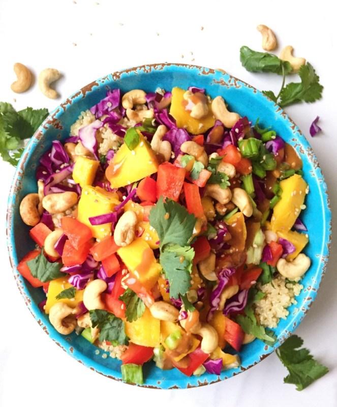 Thai Quinoa Spring Salad 3
