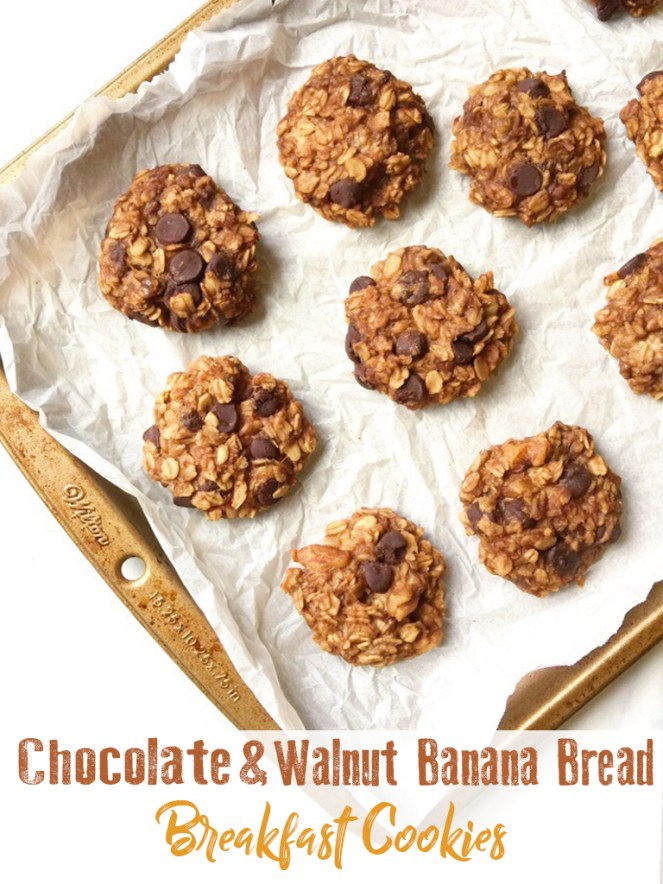5 ingredient banana breakfast cookies