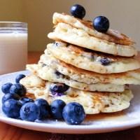 Gluten-Free Fluffy Blueberry Pancakes