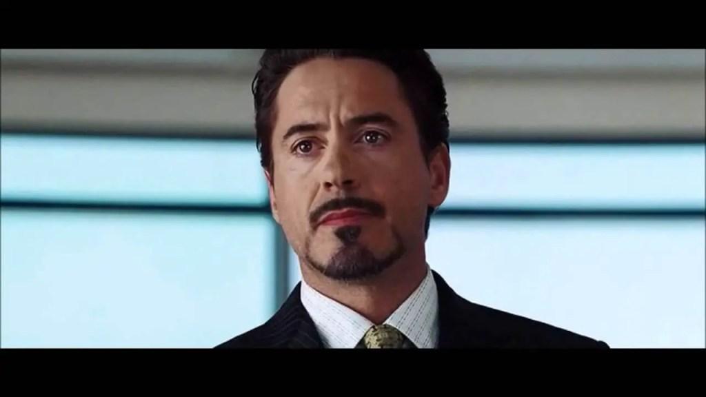 iron man end scene