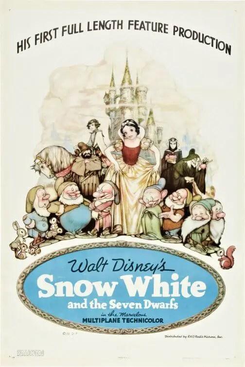 Snow White (1937) poster
