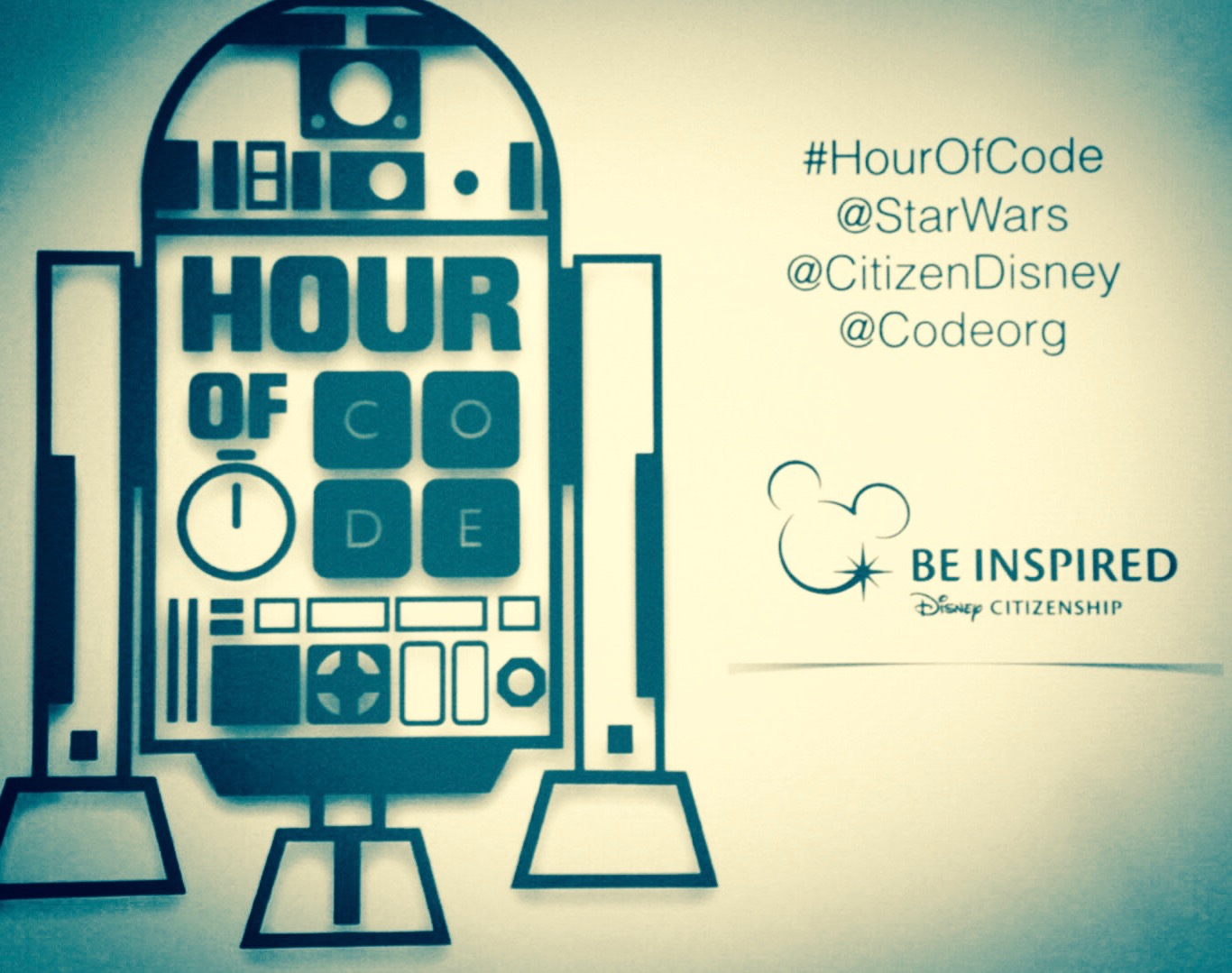 Disney And Code Awaken The Force With An Hour Of Code