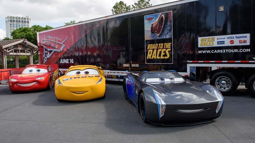 Disney Pixar Cars World Wallpaper Mural Pixar S Cars 3 Touring Event Reaches Disneyland This Week