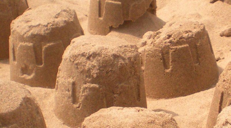 mickey sandcastle