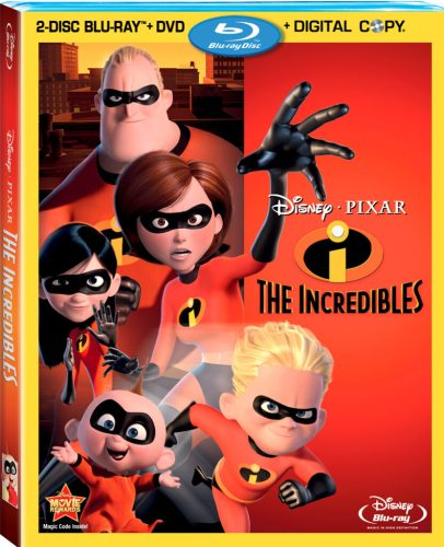 The Incredibles Bluray2