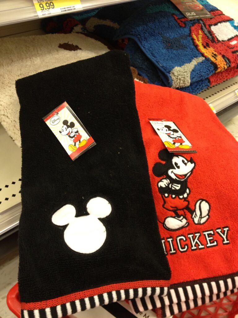 Simple Disney Bathroom Items at Target