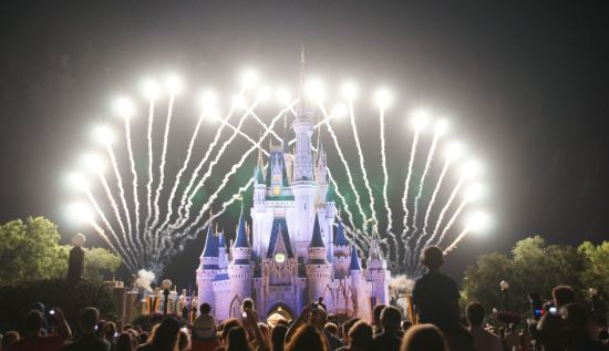 My wife is also a Disney fan and she is an avid photographer. We so have tens of thousands of pictures about Walt Disney World. She's quite good at photographing fireworks!