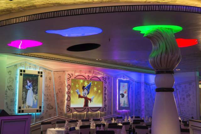 The Disney Cruise Line Dining Experience The Disney