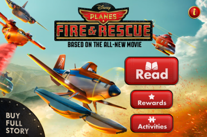 Planes: Fire & Rescue App Title