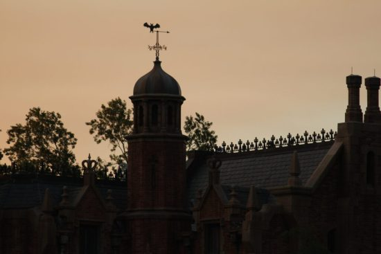 Haunted Mansion Weather Vane - Wordless Wednesday