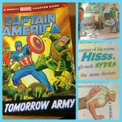 captain america tomorrows army