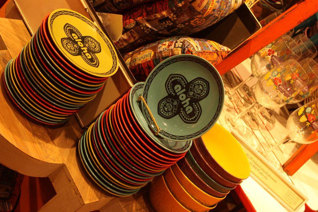 Polynesian plates - marketplace co-op