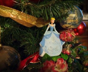 Cinderella Christmas ornament