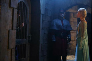 Elsa visits the imprisoned Anna, so they can hatch their plan to stop Ingrid.