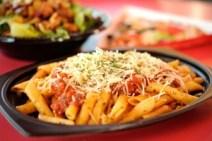 Terra Nova Tomato Basil Pasta, Redd Rockett's Pizza Port, Disneyland Park