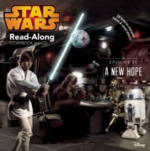 Star Wars: a new hope read-along storybook & CD