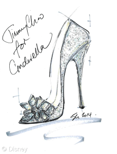 Cinderella Shoe - Sandra Choi