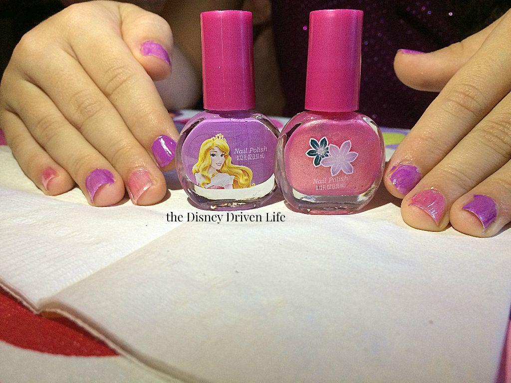 disney princess peel- nail