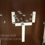 Mickey Wall Football game - Maria's party