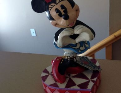 Minnie Mouse - Jim Shore Figurine