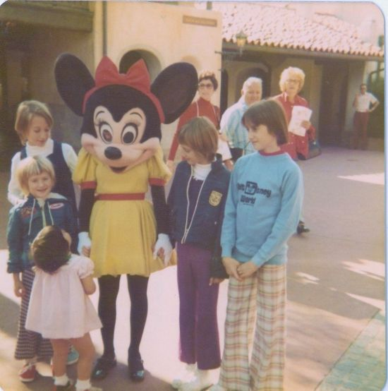 Minnie Mouse 1975 - throwback thursday
