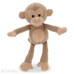 kip  plush monkey kingdom disney store