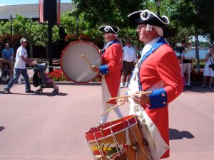 EPCOT Spirit of America Battery
