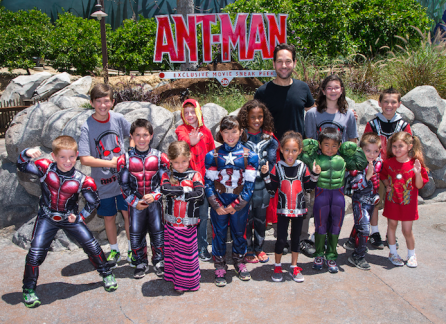 Paul Rudd AntMan Disneyland