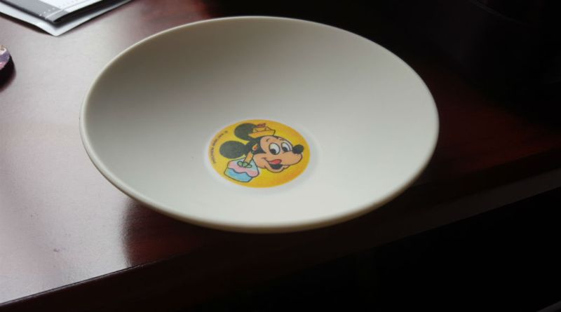 Vintage Mickey Mouse Bowl - Throwback Thursday