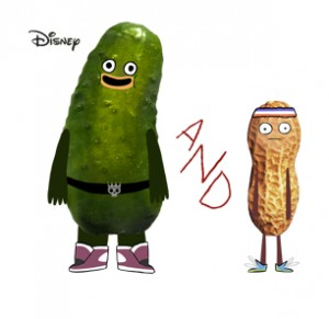 PICKLE AND PEANUT LOGO