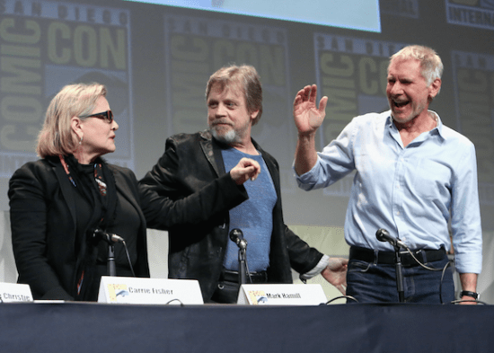 Star Wars Comic Con 15 - Getty Images 2
