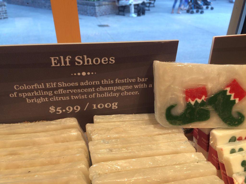 Basin Holiday Soap - Elf Shoes