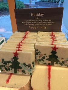 Basin Holiday Soap - Holiday