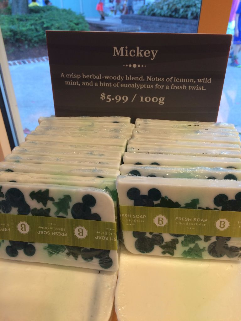 Basin Holiday Soap - Mickey Wood Blend
