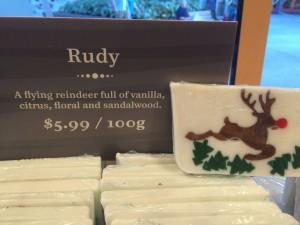 Basin Holiday Soap - Rudy