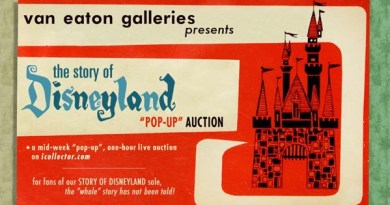 Disneyland Van Eaton Gallery Auction (2)
