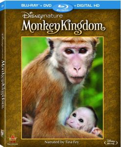 Disneynature Monkey Kingdom Bluray