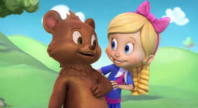 goldie & bear disney channel