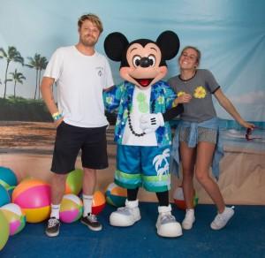 Leila Hurst and Dane Reynolds - Mickey' Vans