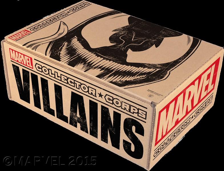 CCollector Corps Villains Box