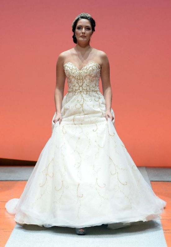 2016 Alfred Angelo Disney Fairy Tale Weddings Bridal Collection Fashion Show Debut Cinderella